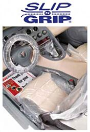 Slip-N-Grip Standard Seat Covers (.5 mil) (Master Carton 2 Rolls of 500)