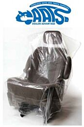 CAATS Standard Seat Covers (.5 mil) Master Carton (2 Rolls of 500)