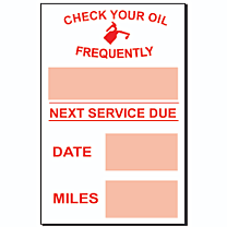Stock Static Cling Reminders-Generic
