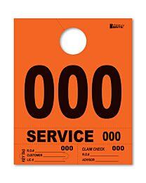 Heavy Brite 4-Part Dispatch Numbers (Orange)
