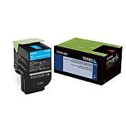 Lexmark Toner CS510 Cyan 4K