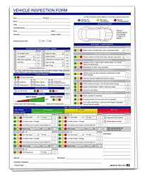 Multi-Point Inspection Form Generic - Vehicle Inspection Form