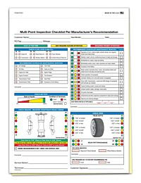Multi-Point 2-Part Inspection Forms