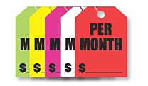 Mirror Hang Tags (Jumbo) Per Month