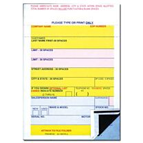 Vehicle Deal Label (Permanent Adhesive)